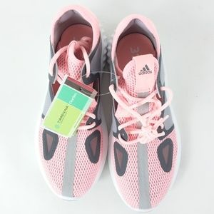 Adidas Run Lux Clima Size 7 Peach Gray